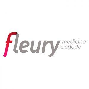 Logotipo Fleury laboratório